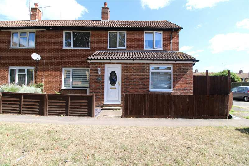 4 Bedrooms Semi Detached House for sale in Lyminge Close, Twydall, Rainham, Kent, ME8