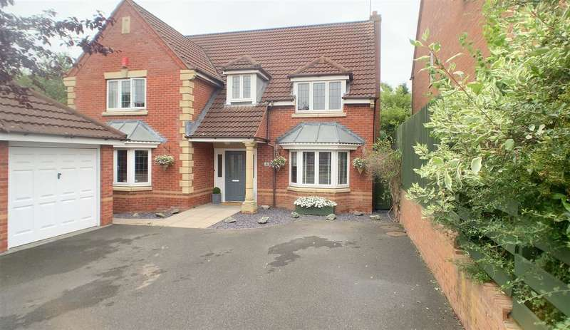 5 Bedrooms Detached House for sale in Holyrood Close, Stafford
