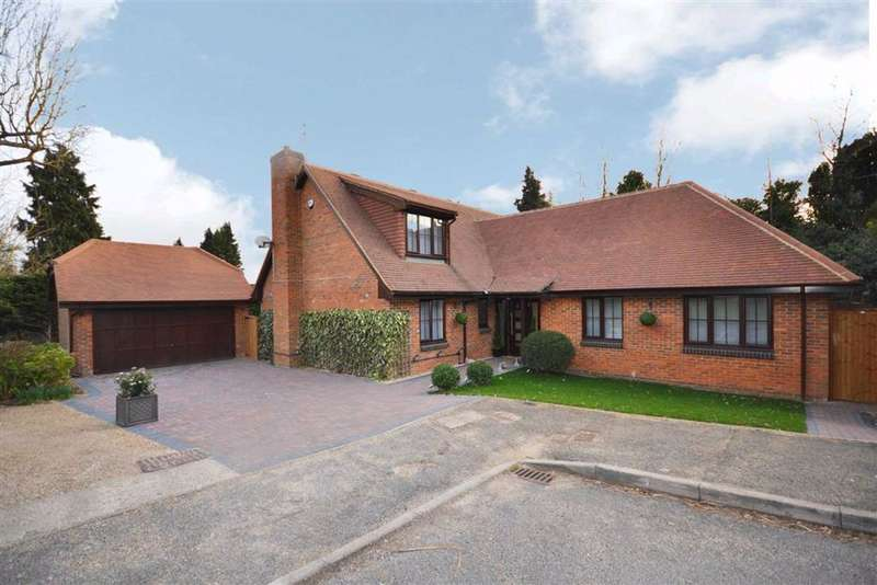 4 Bedrooms Detached House for sale in Dingle Close, Arkley, Hertfordshire