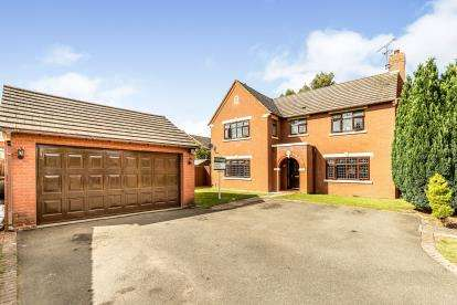 4 Bedrooms Detached House for sale in Prospero Drive, Heathcote, Warwick, Warwickshire