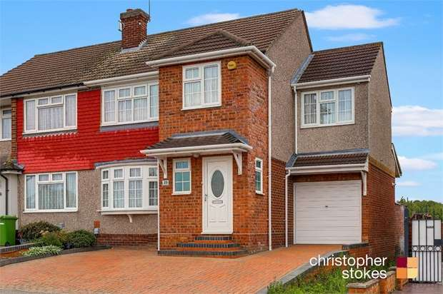 4 Bedrooms Semi Detached House for sale in Landmead Road, Cheshunt, Hertfordshire