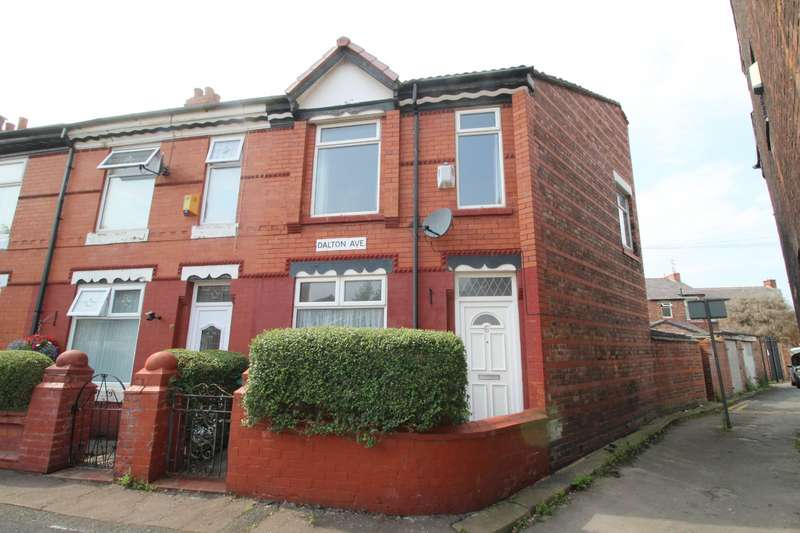 3 Bedrooms End Of Terrace House for sale in Dalton Avenue, Manchester, Greater Manchester, M14