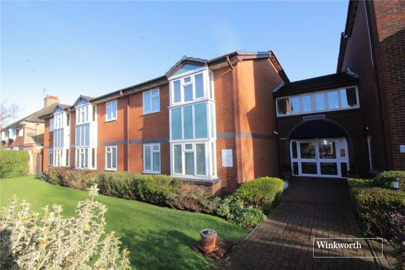 1 Bedroom Flat for sale in Fairbanks Lodge, Furzehill Road, Borehamwood, Hertfordshire, WD6