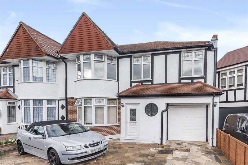 4 Bedrooms Semi Detached House for sale in Spring Gardens, Woodford Green, IG8
