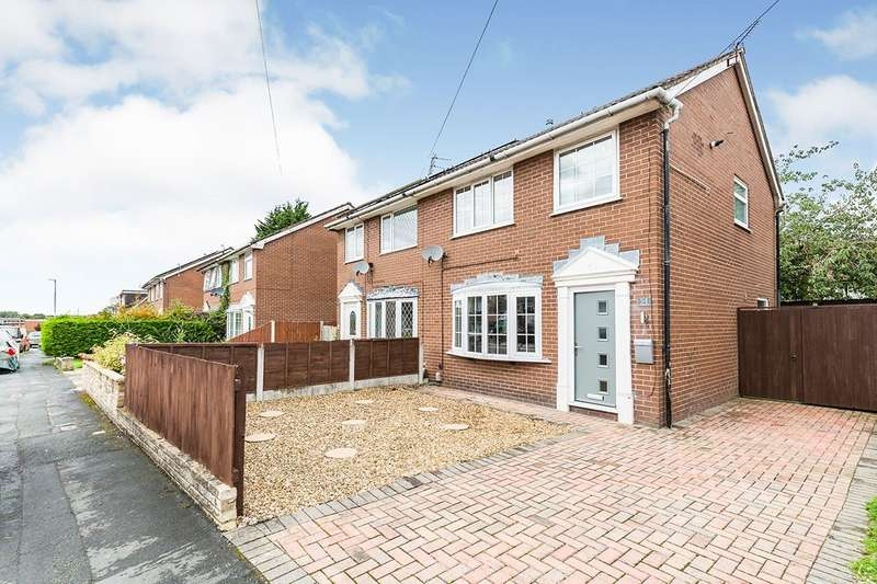 3 Bedrooms Semi Detached House for sale in Larchwood Crescent, Leyland, PR25