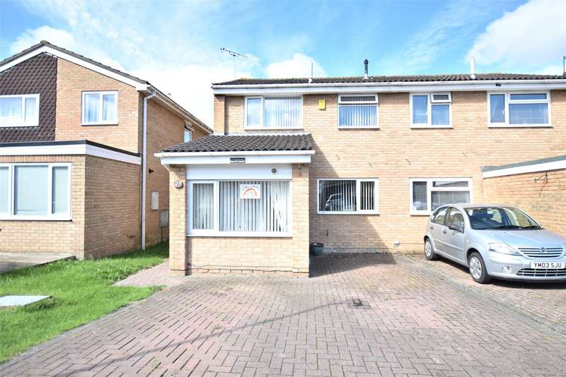 3 Bedrooms Semi Detached House for sale in Haycroft Drive, Matson, Gloucester, Gloucestershire, GL4