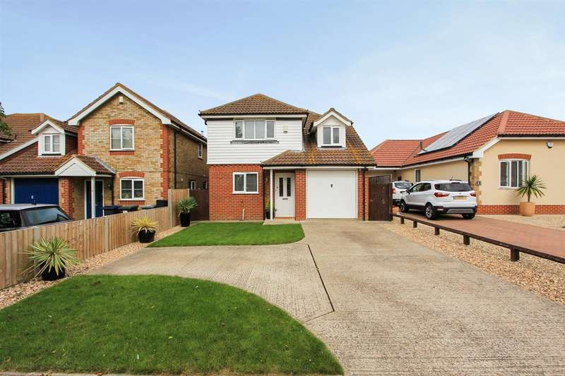 4 Bedrooms Detached House for sale in Foxdene Road, Seasalter, Whitstable