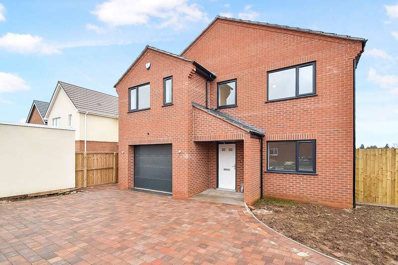 4 Bedrooms Detached House for sale in Birch Meadows, Battenhall Road, Worcester, Worcestershire