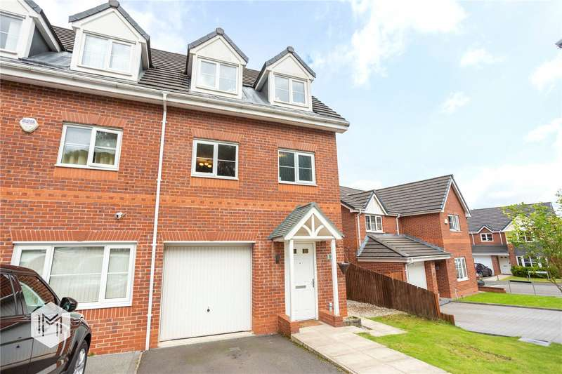 4 Bedrooms Semi Detached House for sale in Valley View, Bury, Greater Manchester, BL8