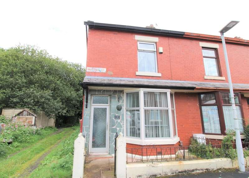 2 Bedrooms End Of Terrace House for sale in Nuttall Street, Blackburn, Lancashire, BB2