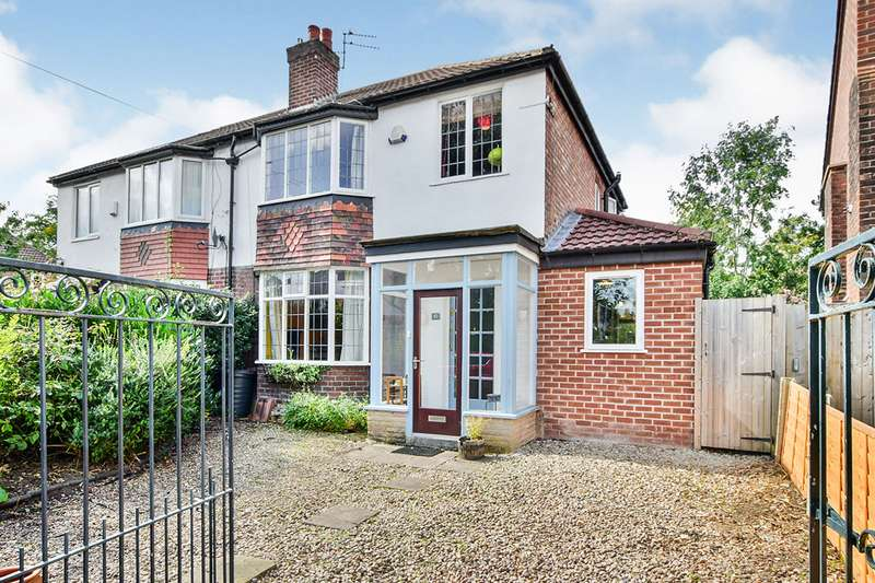 3 Bedrooms Semi Detached House for sale in Beaver Road, Manchester, Greater Manchester, M20