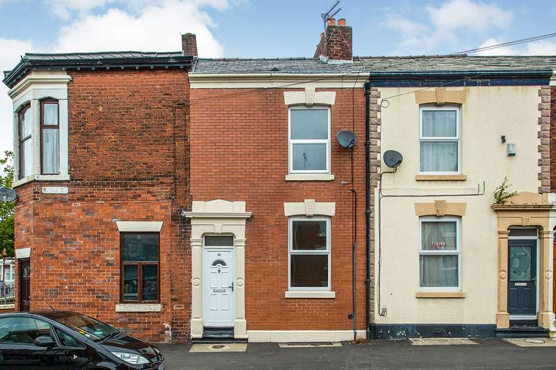 3 Bedrooms End Of Terrace House for sale in Ripon Street, Preston, Lancashire, PR1