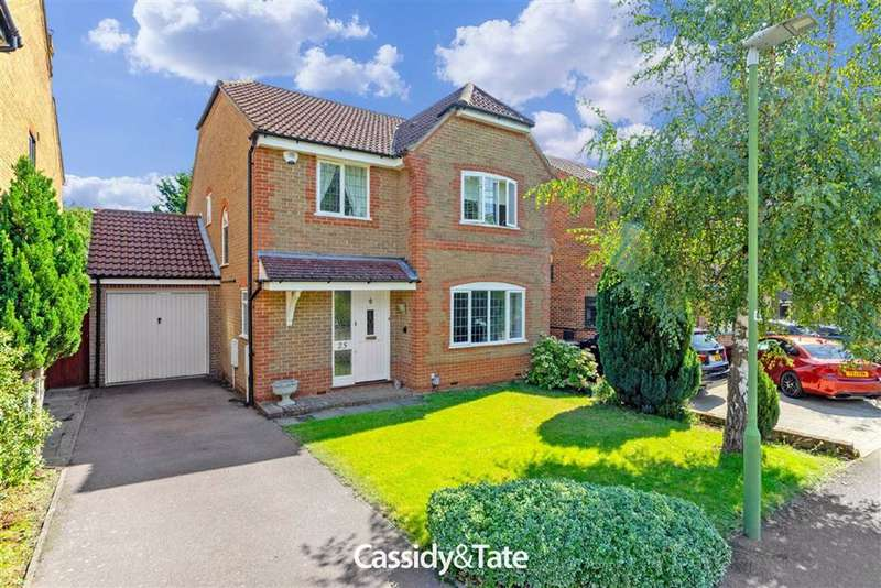 4 Bedrooms Property for sale in Forge End, St. Albans, Hertfordshire - AL2 3EQ