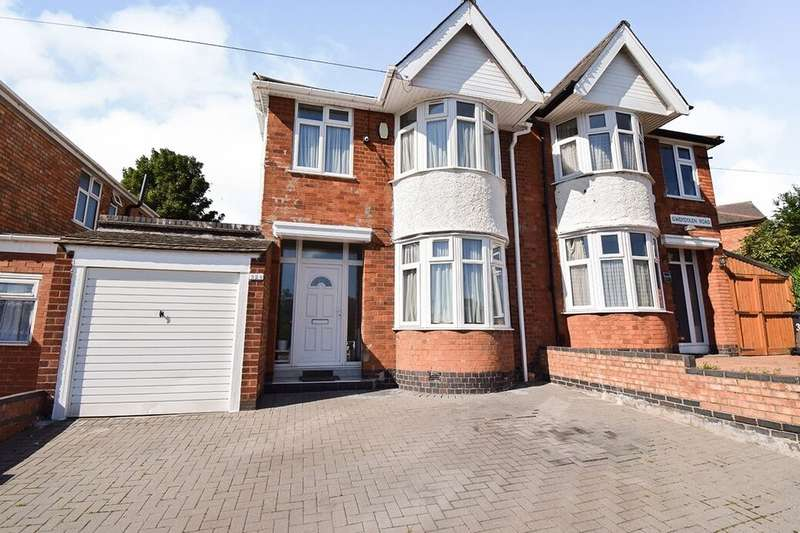 3 Bedrooms Semi Detached House for sale in Gwendolen Road, Leicester, LE5