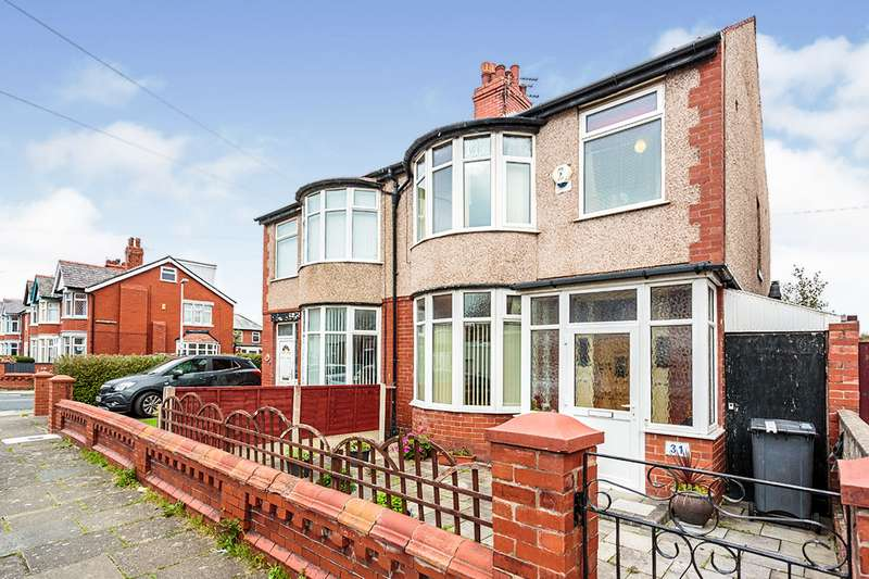 3 Bedrooms Semi Detached House for sale in Lyndhurst Avenue, Blackpool, Lancashire, FY4