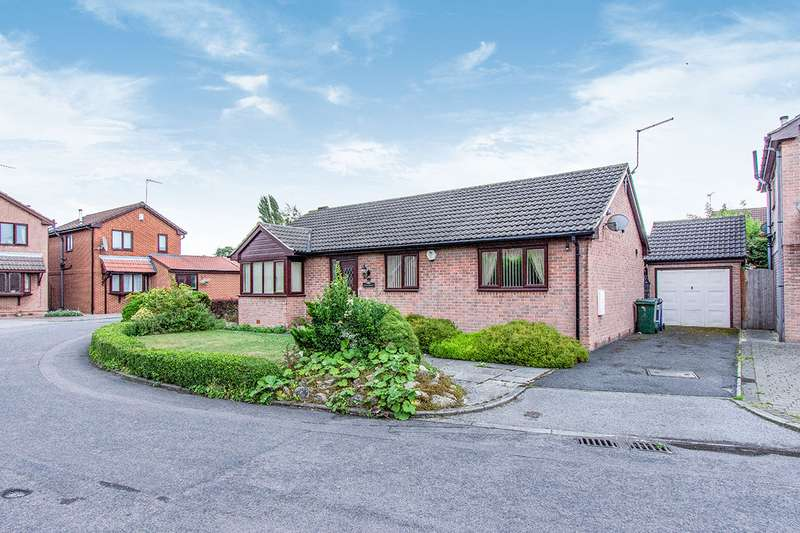 3 Bedrooms Detached Bungalow for sale in Paddock Close, Cusworth, DN5