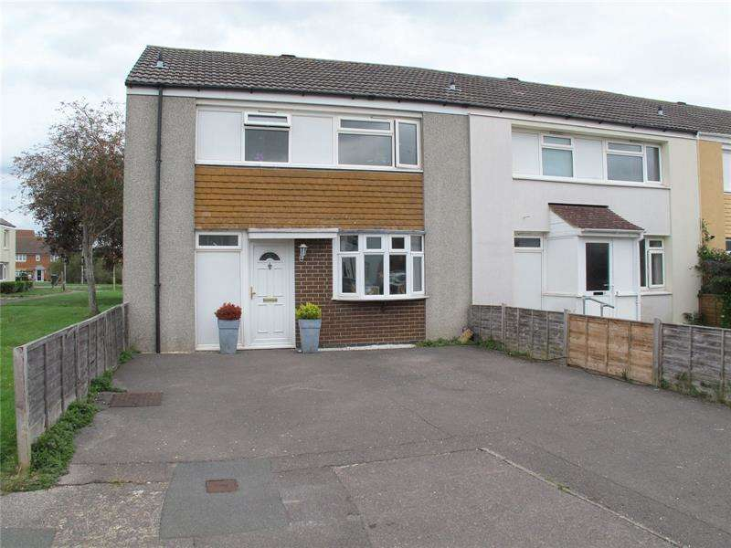 3 Bedrooms End Of Terrace House for sale in Skipper Way, Lee-On-The-Solent, Hampshire, PO13