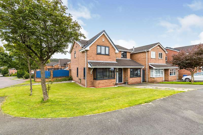 4 Bedrooms Detached House for sale in Grey Heights View, Chorley, Lancashire, PR6