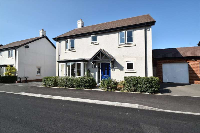 4 Bedrooms Detached House for sale in Lawnspool Drive, Kempsey, Worcester, Worcestershire