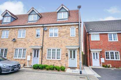 3 Bedrooms End Of Terrace House for sale in Buckland Close, Sutton-in-Ashfield