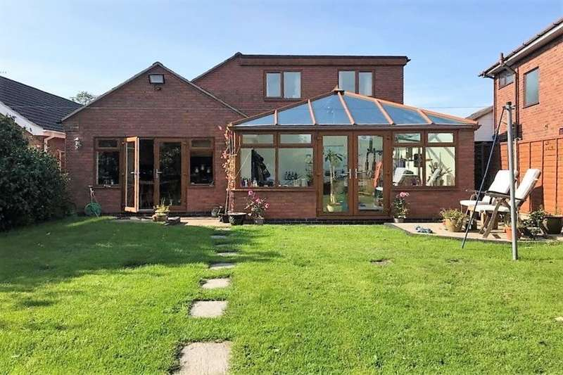 4 Bedrooms Detached House for sale in Magyar Crescent, Nuneaton, CV11