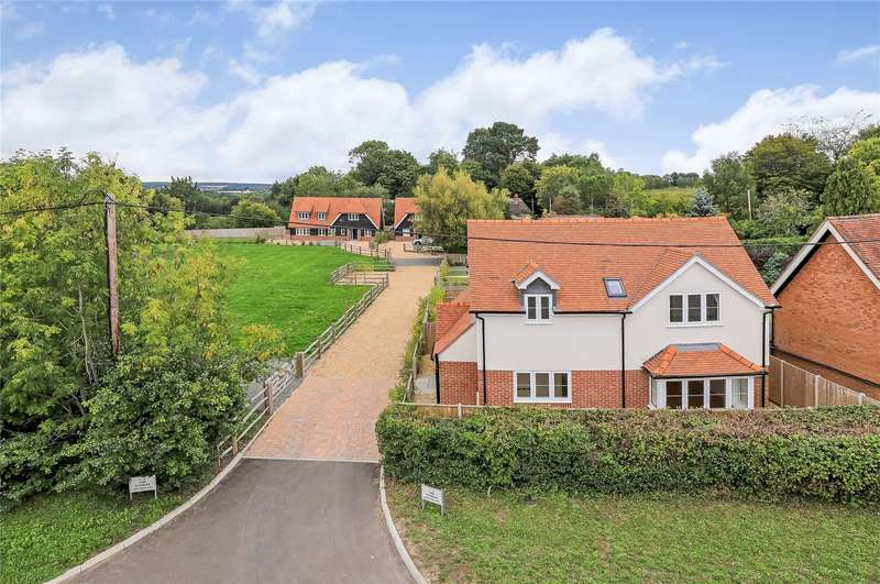 4 Bedrooms Detached House for sale in The Stables, Ampfield Hill, Ampfield, Romsey, SO51