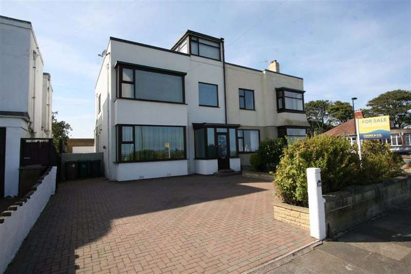 3 Bedrooms Semi Detached House for sale in The Links, Whitley Bay, NE26