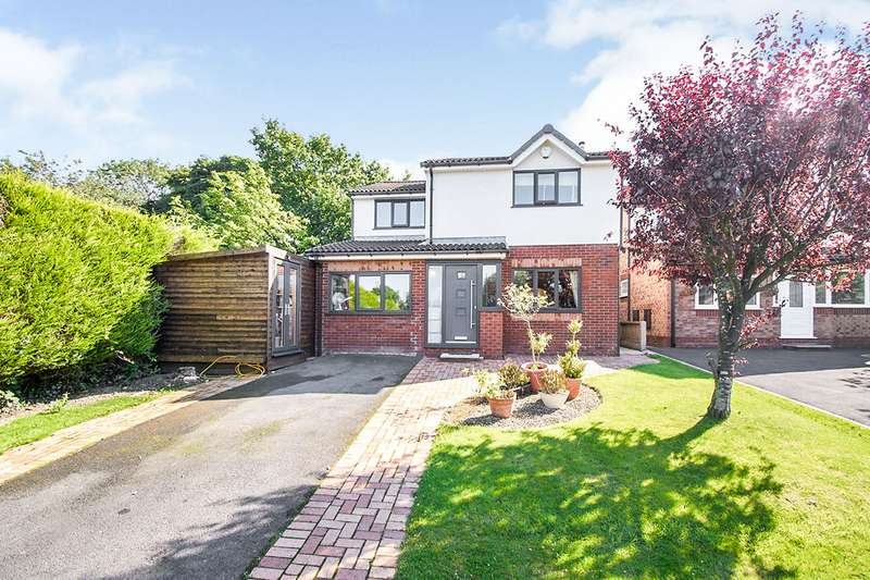 4 Bedrooms Detached House for sale in Burgh Meadows, Chorley, Lancashire, PR7