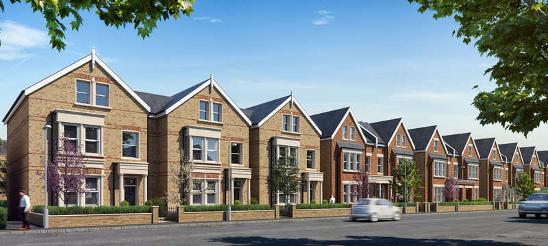 3 Bedrooms Flat for sale in Antoinette Close, Kingston Upon Thames