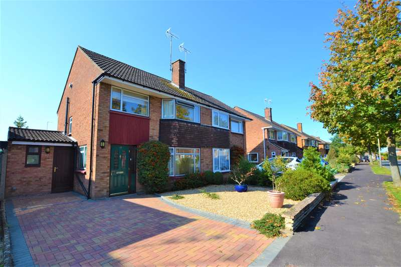 3 Bedrooms Semi Detached House for sale in Farmington Road, Cheltenham, GL51 6AG