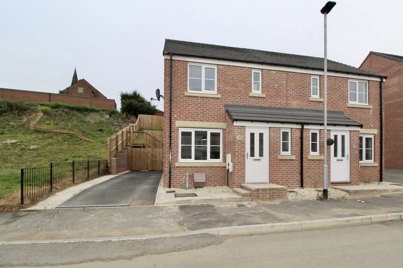 3 Bedrooms Semi Detached House for sale in Mitchells Avenue, Barnsley, South Yorkshire, S73
