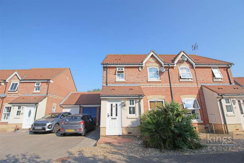 3 Bedrooms Semi Detached House for sale in Albert Gardens, Church Langley