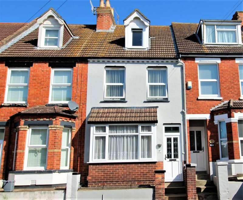4 Bedrooms Terraced House for sale in Athelstan Road, Folkestone, Kent