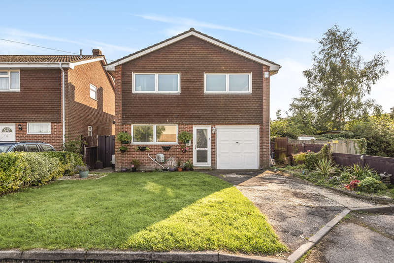 4 Bedrooms Detached House for sale in Chaucer Close, South Wonston