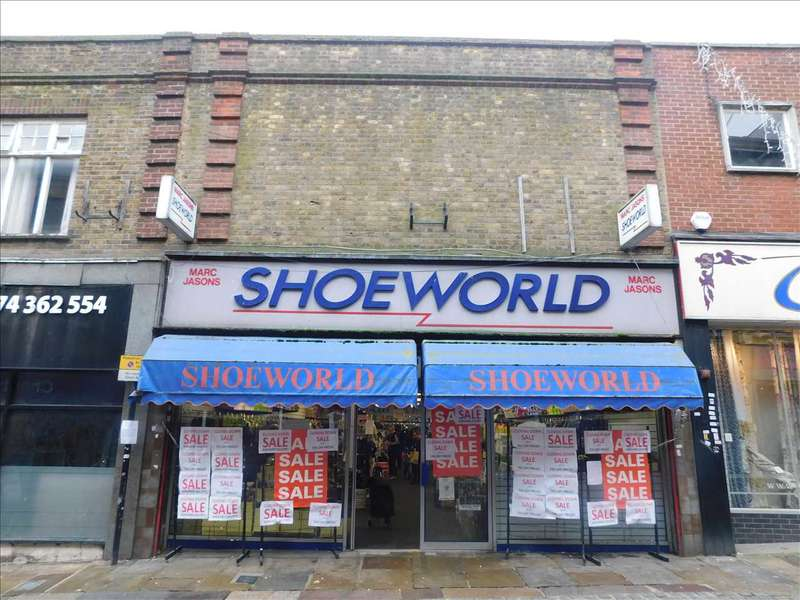 Commercial Property for sale in High Street, Gravesend