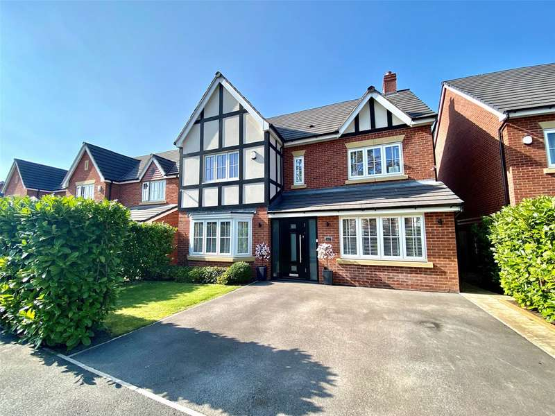 5 Bedrooms Detached House for sale in Hornbeam Close, Great Moor, Stockport, SK2