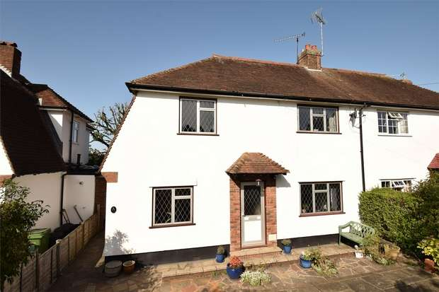 3 Bedrooms Semi Detached House for sale in St James's Road, Sevenoaks, Kent