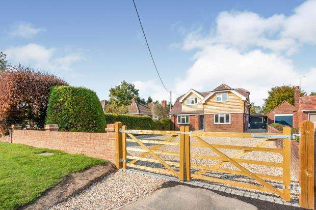 4 Bedrooms Detached House for sale in Old Basing, Basingstoke, Hampshire