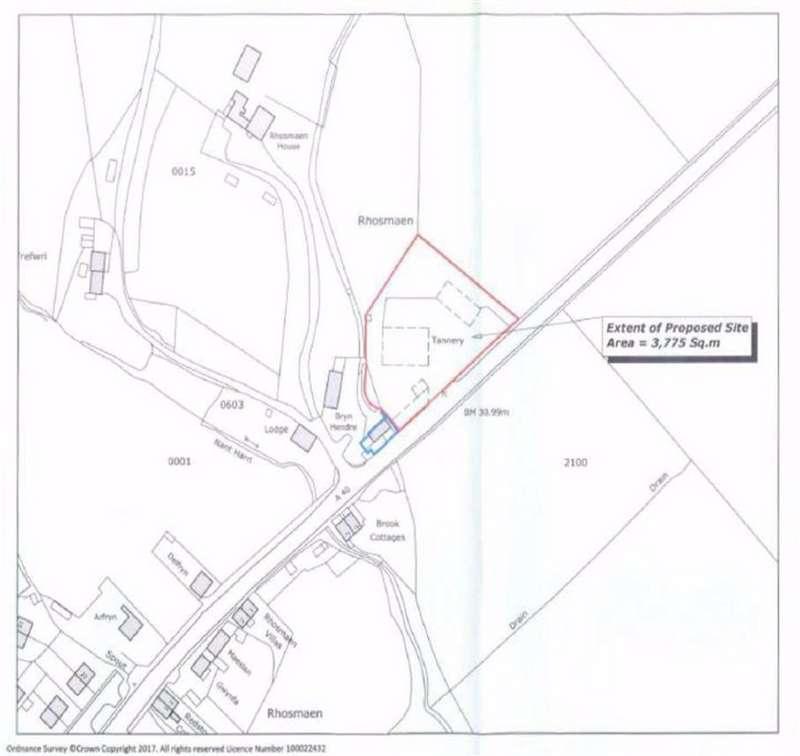 Land Commercial for sale in Cwrt Y Felin, Rhosmaen, Llandeilo