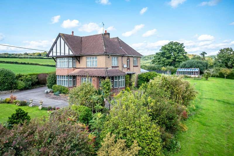4 Bedrooms Detached House for sale in Bream Road, Lydney