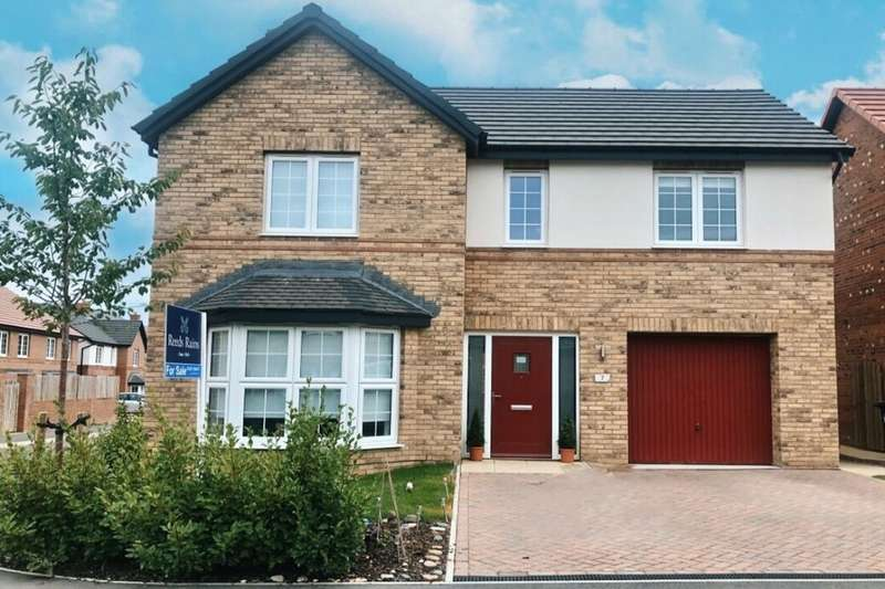 4 Bedrooms Detached House for sale in Spring Wood Road, Guisborough, TS14