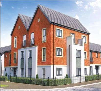 2 Bedrooms Flat for sale in St Michael's Park, Weedon Road, Northampton