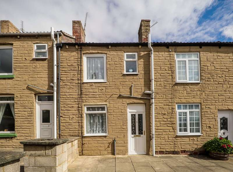 2 Bedrooms Terraced House for sale in Sun Court, Featherstone, Pontefract