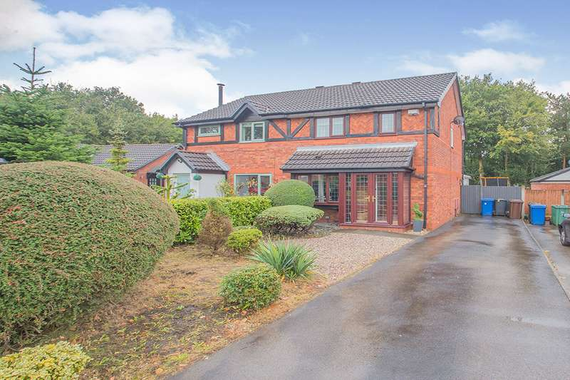 3 Bedrooms Semi Detached House for sale in Vale Edge, Radcliffe, M26