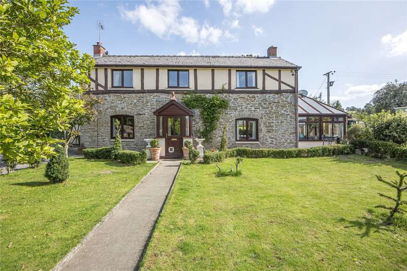 3 Bedrooms Detached House for sale in Lea, Bishops Castle, Shropshire, SY9 5HY