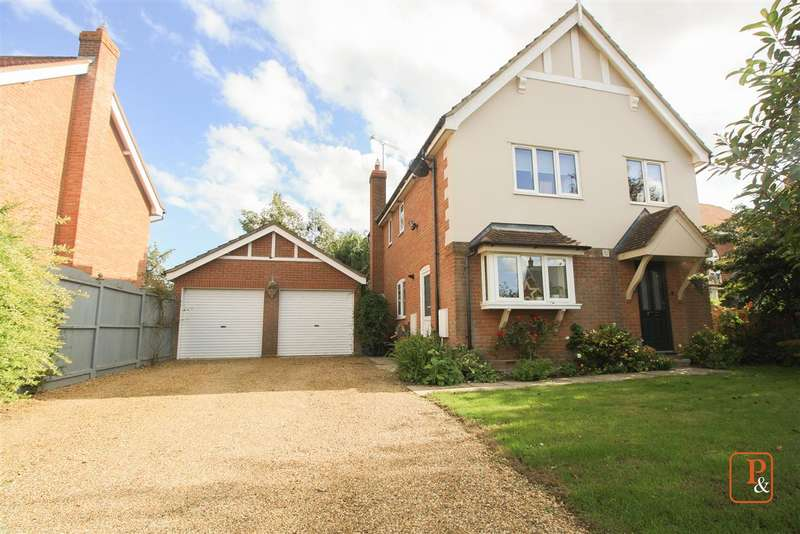 4 Bedrooms Detached House for sale in Fords Lane, Colchester, CO4