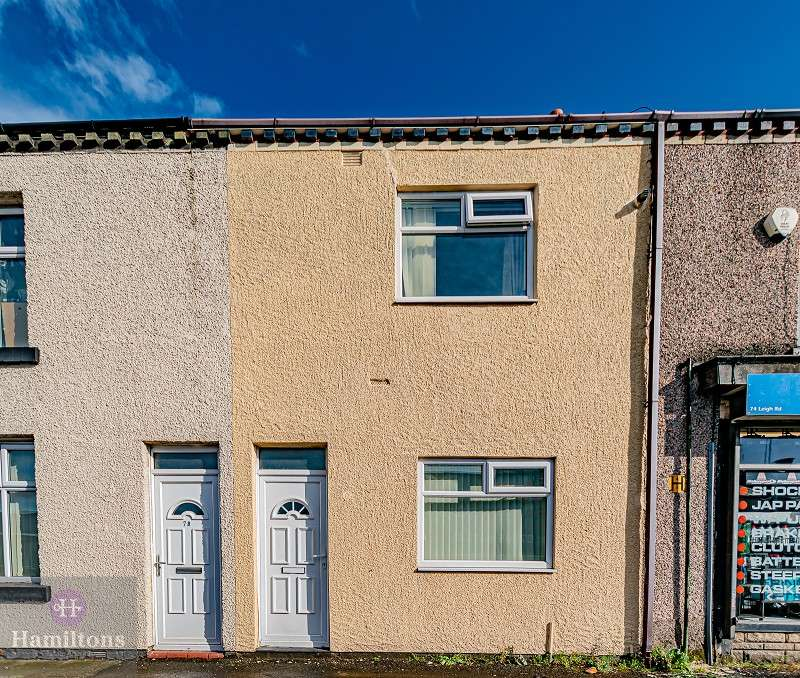 2 Bedrooms Terraced House for sale in Leigh Road, Leigh, Greater Manchester. WN7 1SL
