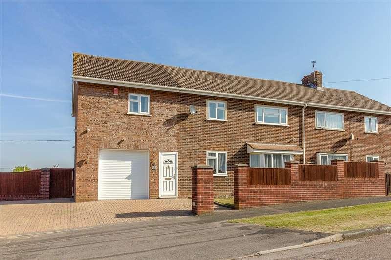 4 Bedrooms Semi Detached House for sale in Eldon Close, Kings Somborne, Stockbridge, Hampshire, SO20