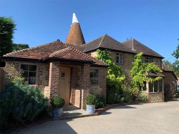 4 Bedrooms Detached House for sale in Fen Pond Road, Ightham, Sevenoaks, Kent