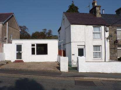 2 Bedrooms Terraced House for sale in Waunfawr, Caernarfon, LL55